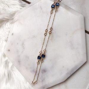 Banana Republic Jewelry - Banana Republic Gold Tone Fashion Long Necklace